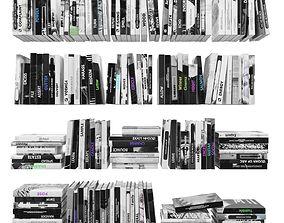 Books 150 pieces 2-1-3 3D model