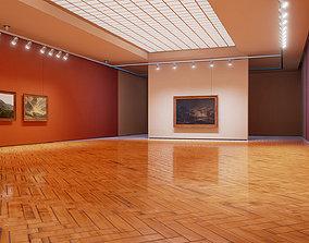 3D asset Classical landscape paintings