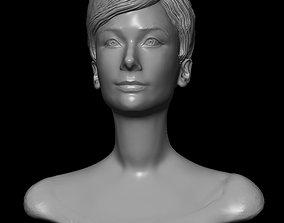 AUDREY HEPBURN 3D printable model