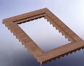 Square frame 3D model