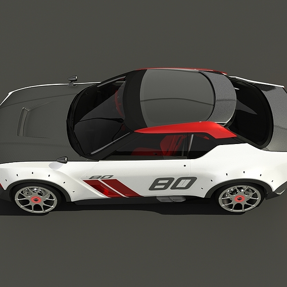 Nissan Nismo IDX 2019 Low poly