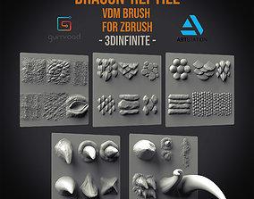 3D 30 Dragon reptile VDM Brush