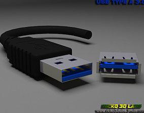 realtime USB MODEL 3 Type A MALE E FEMALE