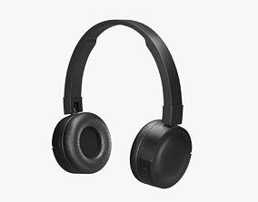 3D asset Wireless Headphones