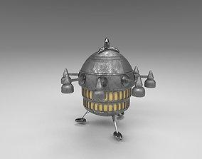 ET Spaceship 3D asset