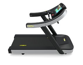 3D Technogym Excite Run 1000 Treadmill