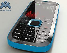 3D model Nokia 5130 XpressMusic - 2009 - blue