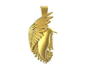3D printable model Bird pendant 1