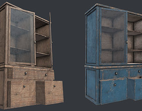 3D model Wood Cabinet 3 PBR