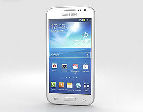 Samsung Galaxy Core LTE White 3D