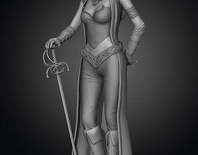 3D print model Elf girl