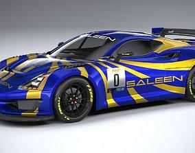 3D asset Saleen GT4 2020