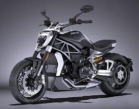 Ducati X-Diavel 2016 3D nacked