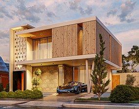 Modern House house 3D