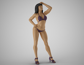 Lovely Girl 3D printable model