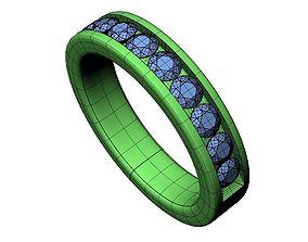 3D printable model Wedding Band -60