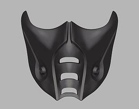 3D print model Sub-Zero mask from Mortal Kombat 9 X 11