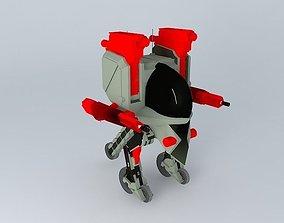 donkey-gun ustomer 3D model