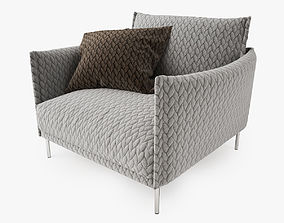 Moroso Gentry Armchair 3D model