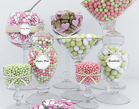 3D Polka Dots candy bar