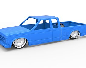 3D printable model Diecast shell and wheels Chevrolet 5