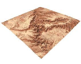 grandcanyon terrain 3D model