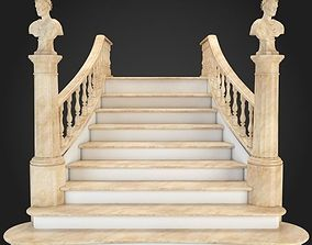 Staircase interior 3D model