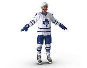 3D Hockey Player Toronto Maple Leafs