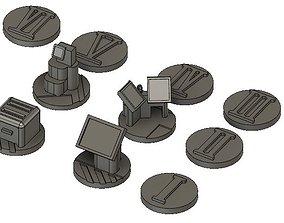 3D print model Sci Fi Objectives