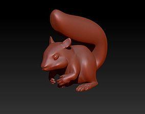Squirrel 3D print model