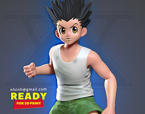 Gon Freecss - Hunter x hunter 3D print model