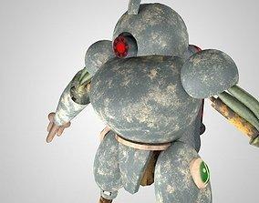 3D model robot browny