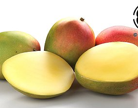 3D model Photo Realistic Mangos