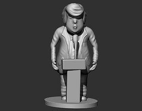 Trump 3D print model