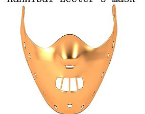cosplay HANNIBAL LECTER MASK 3D print model