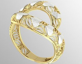 3D print model fancy woman ring