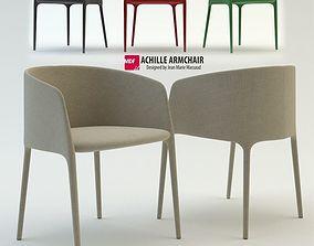 MDF Italia Achille armchair 3D