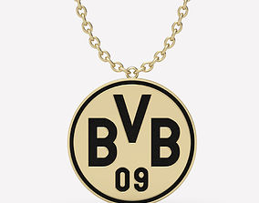 3D print model Pendant Borussia Dortmund