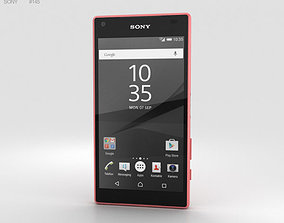 3D Sony Xperia Z5 Compact Coral