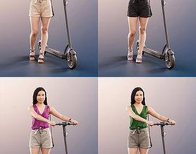 3D model 11312 Anita - 4 Testurevariations Asian Woman 2