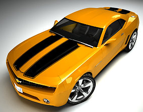 3D Chevrolet Camaro racing
