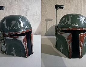 Accurate Boba Fett Helmet 3D printable model