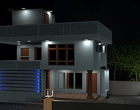 house 3D model realtime exterior
