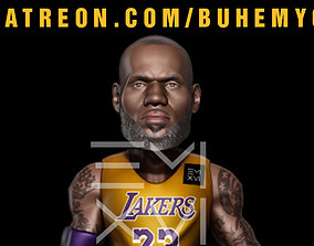 3D print model Lebron James