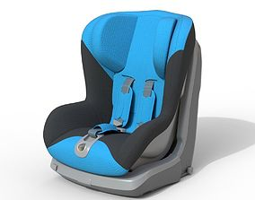 Safety Seat 3D model