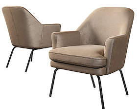 3D model Chisa Armchair Kaza do sofa