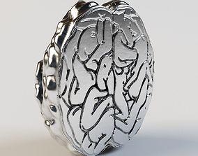 brain 3D print model