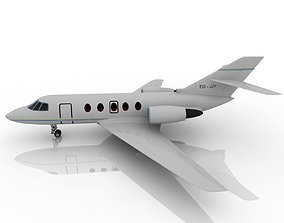 3D model Private aircraft personal plane