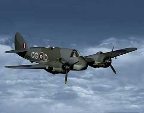 3D model Bristol Beaufighter
