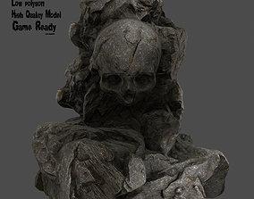 Skull Rock 3D asset realtime